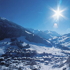 Winterlandschaft in Saalbach/Hinterglemm - ©Saalbach/Hinterglemm