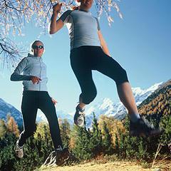 Jogging-Spaß - ©Pontresina