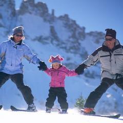 Tijd voor gezinspret in Telluride (Colorado)