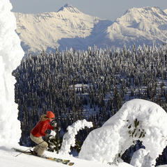Whitefish with Glacier Park (WMR/Brian Schott) - ©Brian Schott/Whitefish Mountain Resort