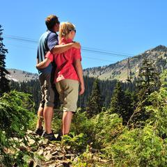 Crystal Mountain WA summer