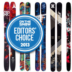 2013 Editors' Choice: The Best Men's Powder Skis