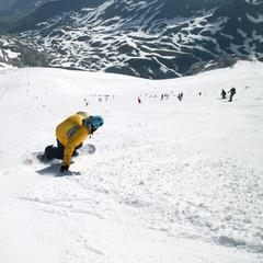 Hitting the slopes in snowsure Tignes, France - ©Tignes Tourism