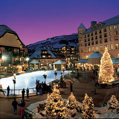 Ice Skating at Beaver Creek Resort - ©Jack Affleck
