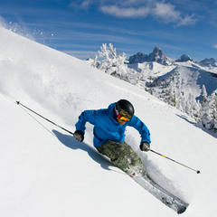 Early-Season Skiing: Grand Targhee, Wyoming