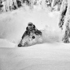 KC Deane kriegt vor lauter Powder den Mund nicht mehr zu - ©Grant Gunderson