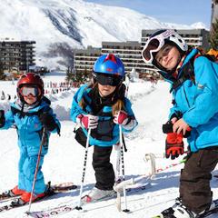 Kids' ski club, Les Menuires - ©David Andre/Les Menuires