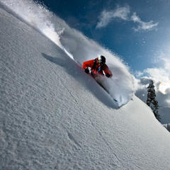 Zack Giffin skiing at Mt. Baker WA - ©Grant Gunderson