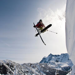 Zack Griffin stylisch unterwegs am Mount Baker in den USA - ©Grant Gunderson