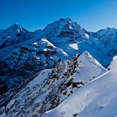 Het pittoreske Mürren in de Zwitserse Alpen