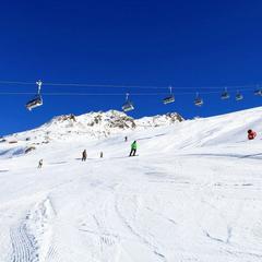 Spacious slopes of Obergurgl-Hochgurgl, Austria