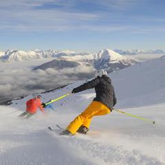 Skifahrer in Serfaus-Fiss-Ladis - ©Sepp Mallaun