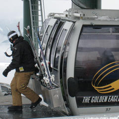 The Golden Eagle Gondola at Kicking Horse.  - ©Becky Lomax
