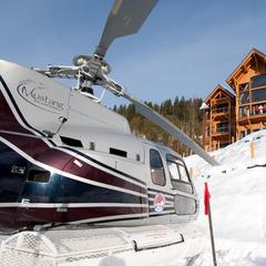 Helicopter pad outside Bighorn at Revelstoke - ©Consensio