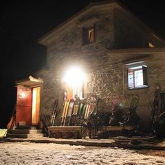 Sciare in notturna con il tour Dynafit - ©Costis Gortzis