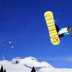 Snowkite al Passo Tonale: si vola sugli sci!