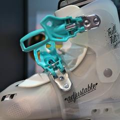 There's more to ski boots than just classy design, however, this boot from Full Tilt looks good on the slopes. - ©Tim Shisler