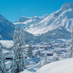 Snow-clad Lech village, Austria - ©Leo Meiseleder