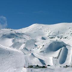 Frische Schneedecke auf den Pisten, Les 2 Alpes, Frankreich - ©Les Deux Alpes