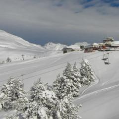 Baqueira Beret, Spain Jan. 18, 2013. Resort gets most snow in four days for 10 years (2.5m at 1800m)