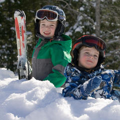 Developing a passion for skiing at a young age is something kids will hold onto forever. Photo: Brooks Dodge / Courtesy of Cranmore Resort