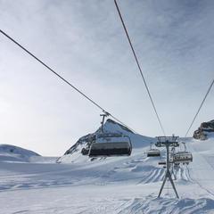 Top-Gletscherskigebiete in der Schweiz, Italien und Frankreich - ©Sebastian Lindemeyer / Skiinfo.de