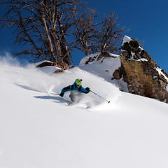Jackson Hole powder. Photo courtesy of Jackson Hole Mountain Resort.