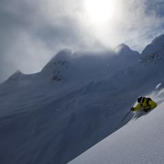 Steep and deep at Northern Escape Heli-Skiing. - ©Northern Escape Heli-Skiing