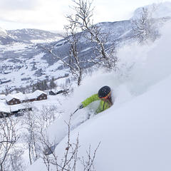Skiing in Norway: Powder conditions, empty slopes - ©Kalle Hägglund