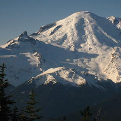 View of Mt. Rainier from Summit House. - ©Becky Lomax