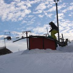 Wilmot Mountain terrain park - ©Wilmot Mountain