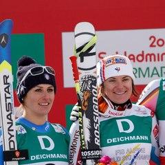 Mondiali di Sci Alpino: discesa azzurra d'argento  per la Fanchini - ©FIS Alpine World Cup Tour