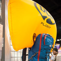 The Backcountry Access Float Airbag remains unchanged except for new color schemes. BCA is now focusing on education and prevention for backcountry travelers. - ©Ashleigh Miller Photography
