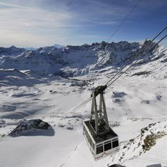 Top snowboarding resort: Cervinia - ©Credit Breuil-Cervinia