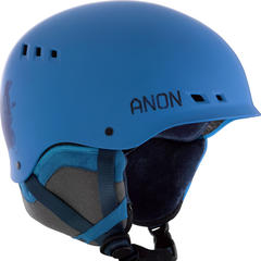 The Talon helmet from Anon features a Boa® 360 Fit System, Endura-Shell ABS Construction and is SkullCandy™ ASFX Audio Compatible. - ©Anon