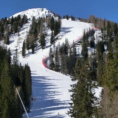 Sciare sulle Dolomiti di Brenta - ©A. Corbo