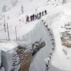 Pięć najbardziej przerażających tras narciarskich na świecie - ©Tristan Greszko/Jackson Hole Mountain Resort
