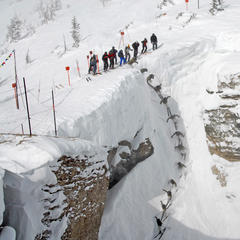 Corbets Couloir, Jackson Hole. - ©Tristan Greszko/Jackson Hole Mountain Resort