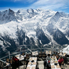 Panoramic view on Mont-Blanc from the Brevent - ©M. Dalmasso
