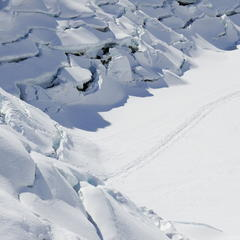 Seven meters of snow each year at Arlberg.