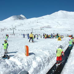 Skiën in mei in Passo Tonale: dankzij de gletsjer kan het - ©Passo Tonale Tourism