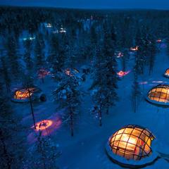 Kakslauttanen Igloo Village, Lapland