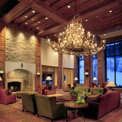 The lobby at the Park Hyatt Beaver Creek Resort and Spa. - ©Park Hyatt Beaver Creek Resort and Spa