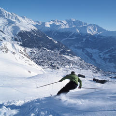 Freeskiing in Verbier