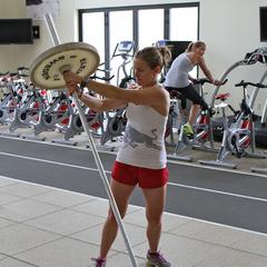 Ski Exercises: Barbell Rotations - ©OnTheSnow.com