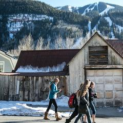 The town of Telluride is a mix of old and new. - ©Liam Doran
