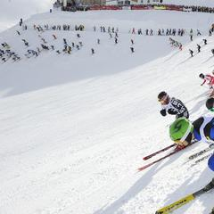 Arlberg's White Thrill: Strong legs and nerves required - ©TVB St. Anton am Arlberg / Fotograf Josef Mallaun