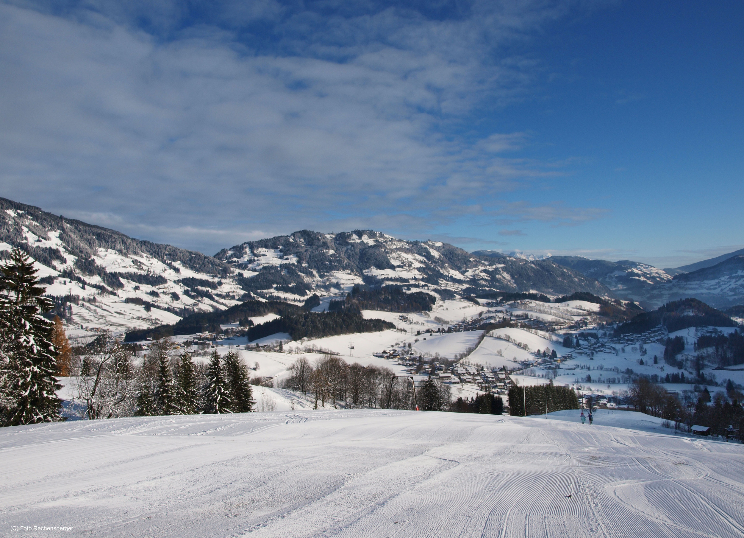 Ski resort Goldegg