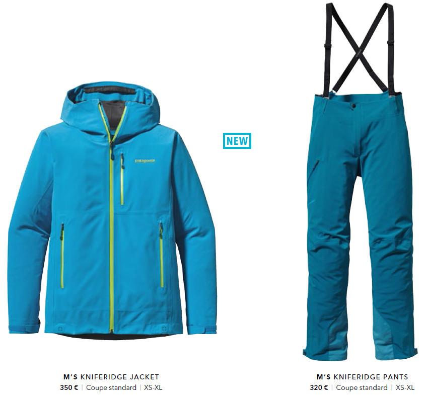 Tenue de ski (veste et pantalon) Patagonia KnifeRidge