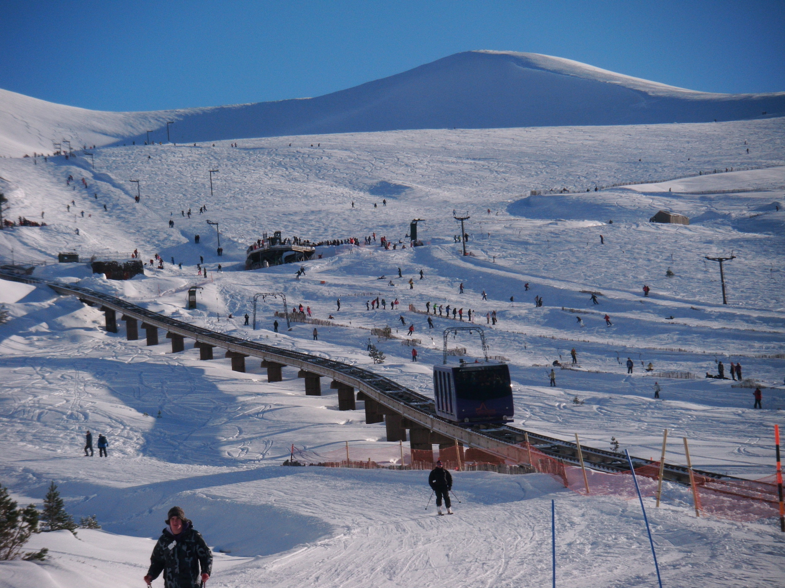 Tania train at Cairngorm Mountain, Scotlandundefined